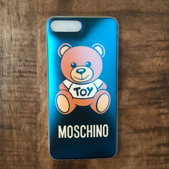 finest selection 81979 8fed7 Moschino soft plastic phone case iPhone 8 Plus